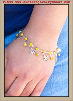 Hibiscus Breeze - Yellow - Paparazzi Accessories