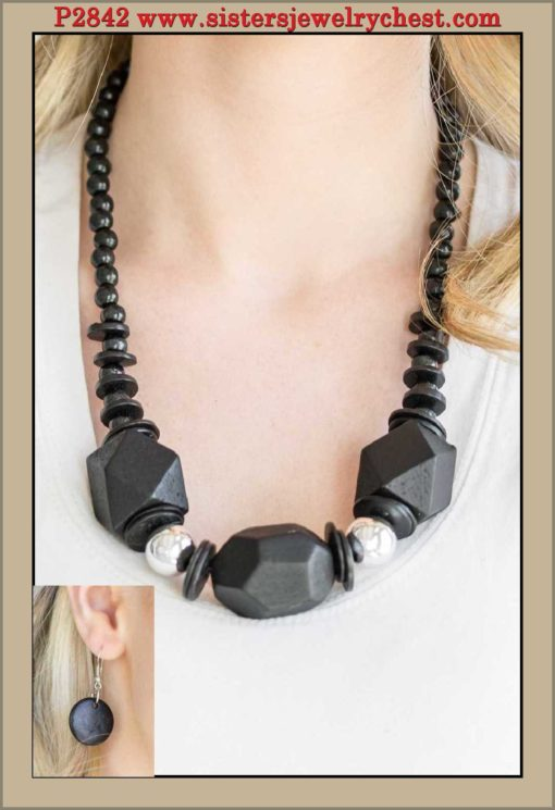 Costa Maya Majesty - Black - Paparazzi Accessories.jpg