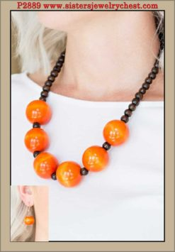 Oh My Miami - Orange - Paparazzi Accessories.jpg