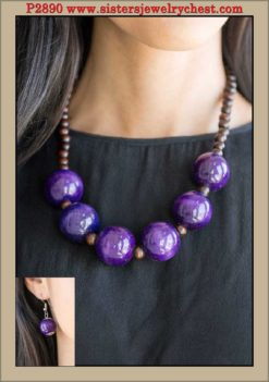 Oh My Miami - Purple - Paparazzi Accessories.jpg