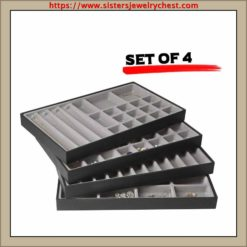 Stackable Leather Jewelry Tray1