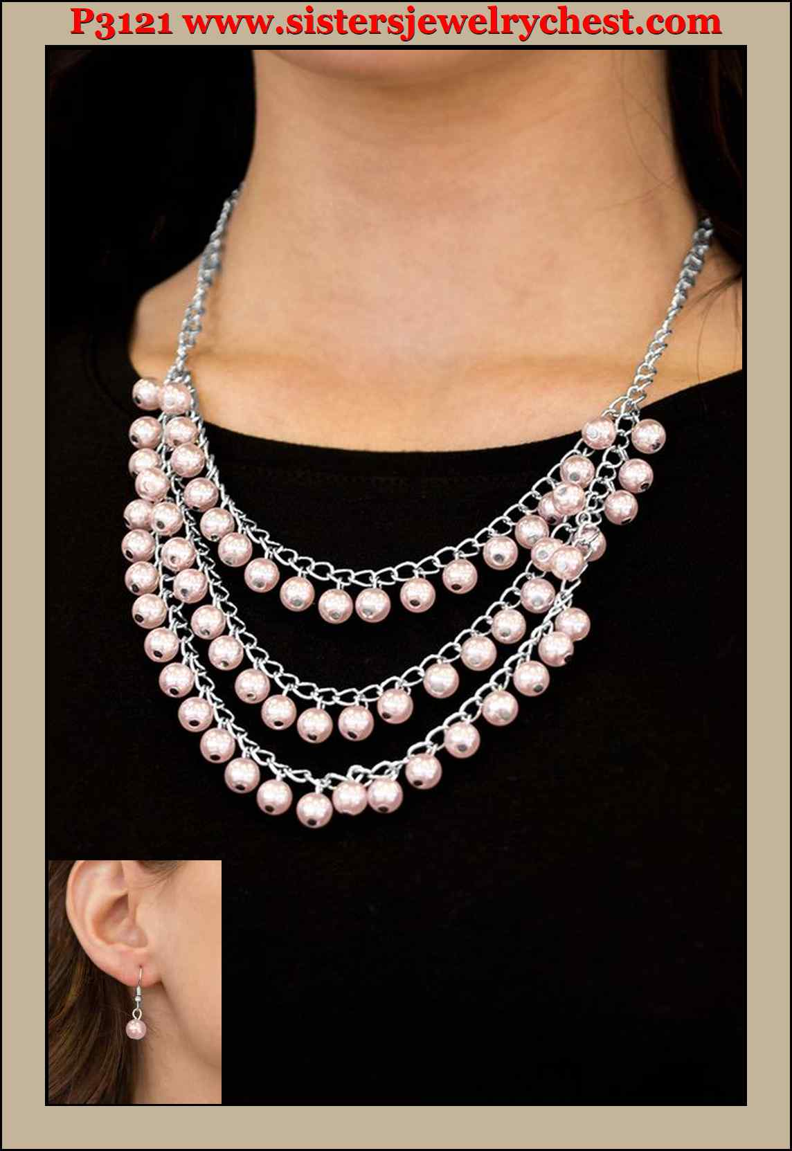 Chicly Classic Pink Paparazzi Accessories