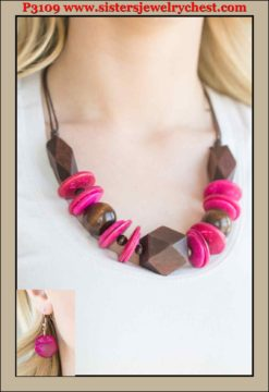 Pacific Paradise - Pink - Paparazzi Accessories.jpg