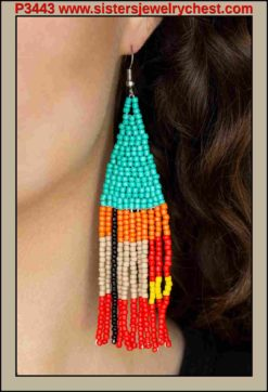 Beaded Boho - Blue - Paparazzi Accessories.jpg