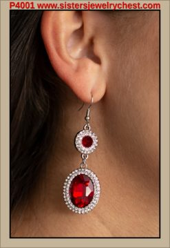 Let It BEDAZZLE - Red - Paparazzi Accessories.jpg